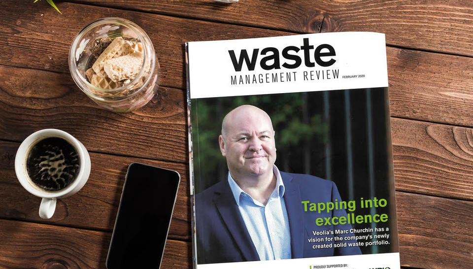 Marc Churchin Cover - Waste Management Review Feb 2020