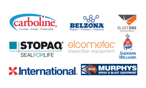 Veolia Protective Paint Supplier Logos
