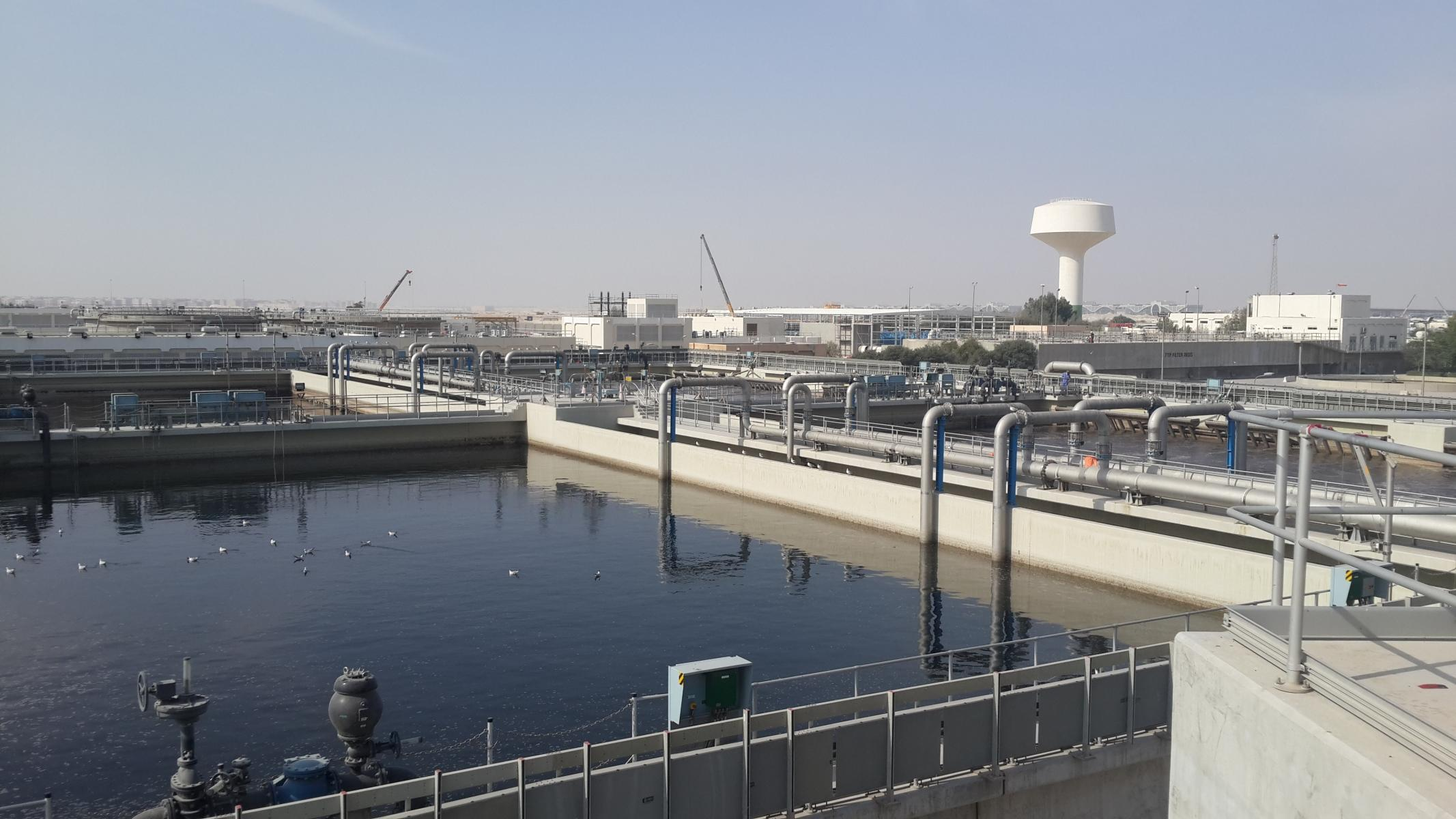Doha South Wastewater Treatment Plant, Qatar | Veolia Middle