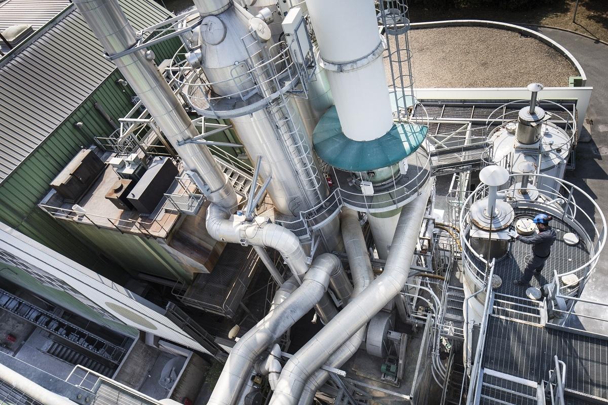 Unité de valorisation énergétique des déchets d'Echillais