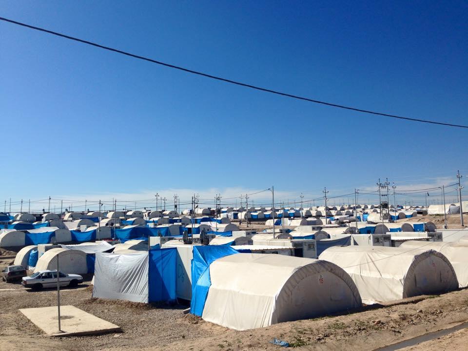Camp de réfugiés Kurdistan iraquien