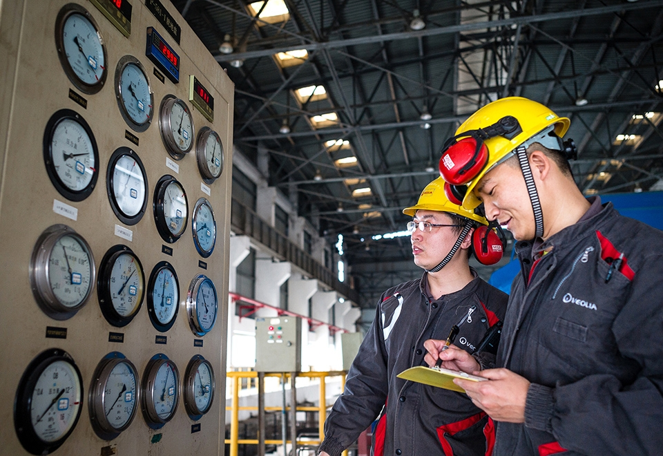 Veolia wins three energy services contracts for Chinese industrial customers