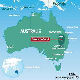 Carte Australie Cp.Australia Veolia Water Wins 650 Million Coal Gas Contract
