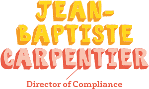 Jean-Baptiste Carpentier, Director of Compliance